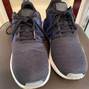 Black Adidas Boost sneakers